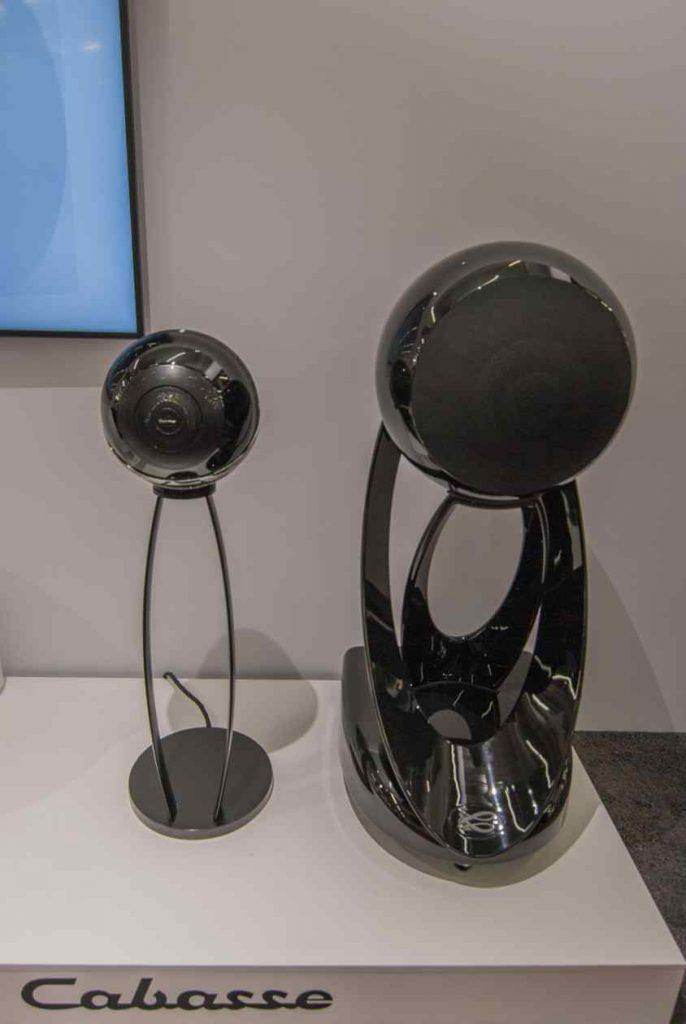 Co-Axiale Cabasse Lautsprecher im ausgefallenen Design