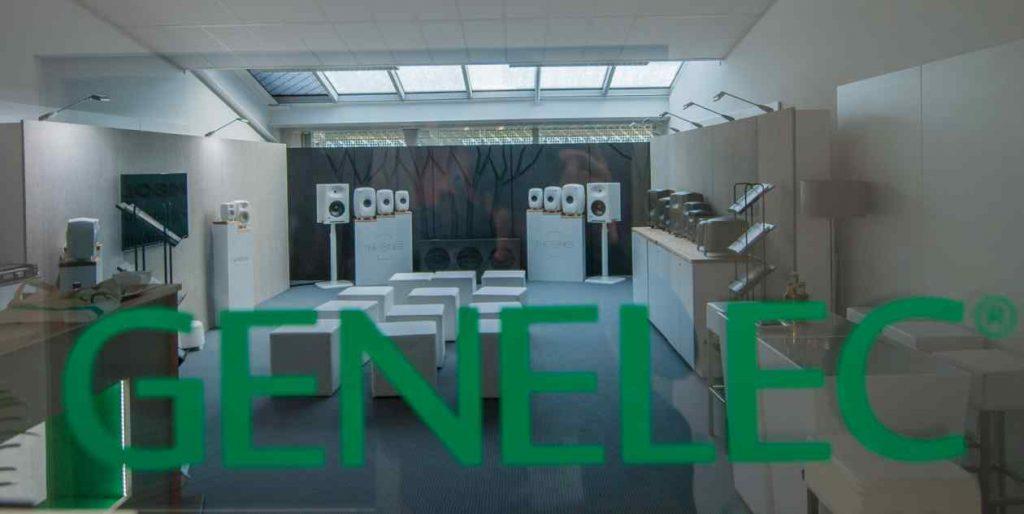 Blick in den GENELEC Showroom