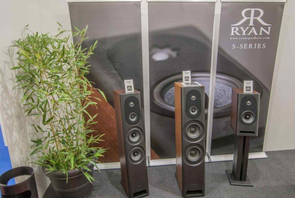 In Californien gefertigte Ryan Speakers