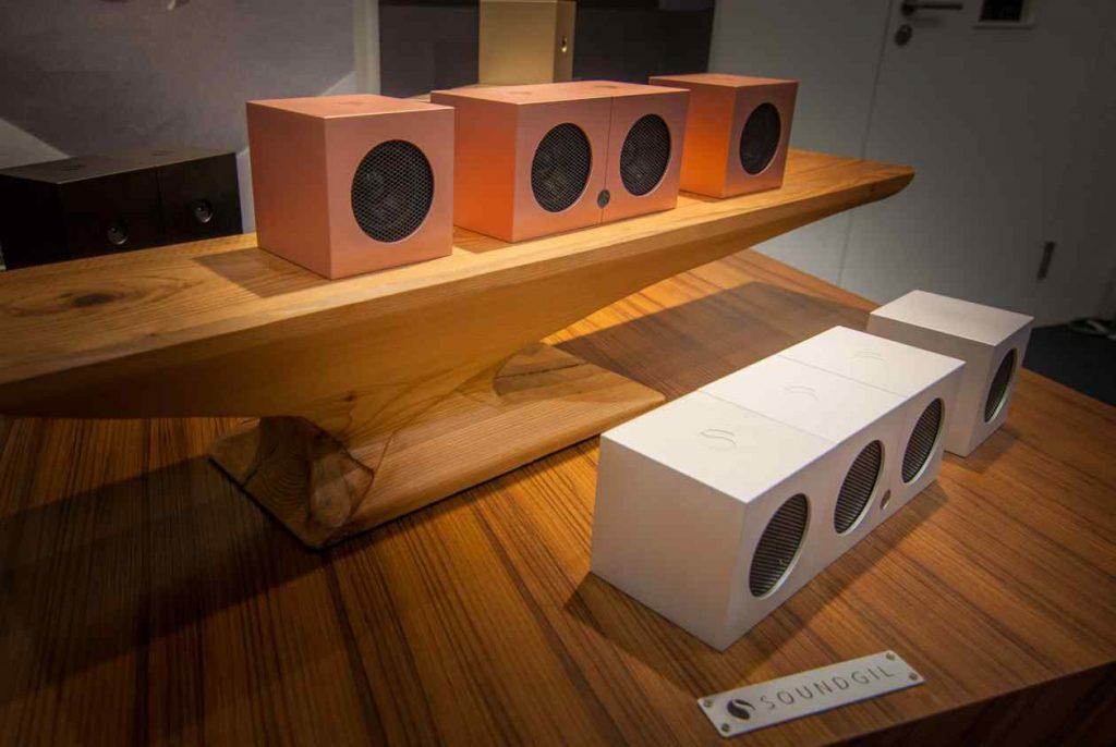 SOUNDGIL Musiksystem aus Taiwan