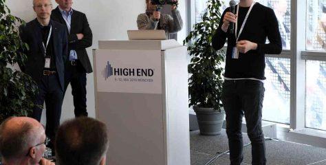 High End 2019 – Pressekonferenz mit Steven Wilson & Videokonferenz mit Jennifer Warnes