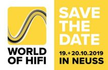 Logo der World of HiFi in Neuss 2019