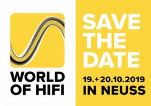 World of HiFi 2019 in Neuss Logo