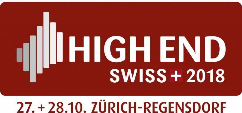 Logo der High End Swiss 2019 in Zürich