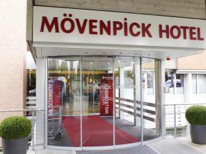 Mövenpick Hotel in Zürich. Veranstaltungsort der High End Swiss in Zürich