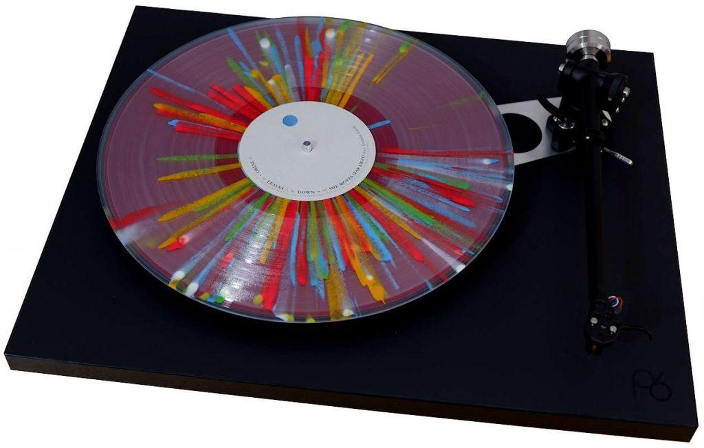 levin design plattentellerauflage mit alle farben