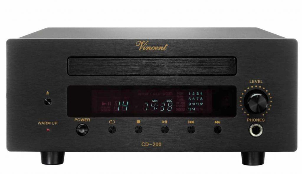 CD Player Vincent CD 200 in den News