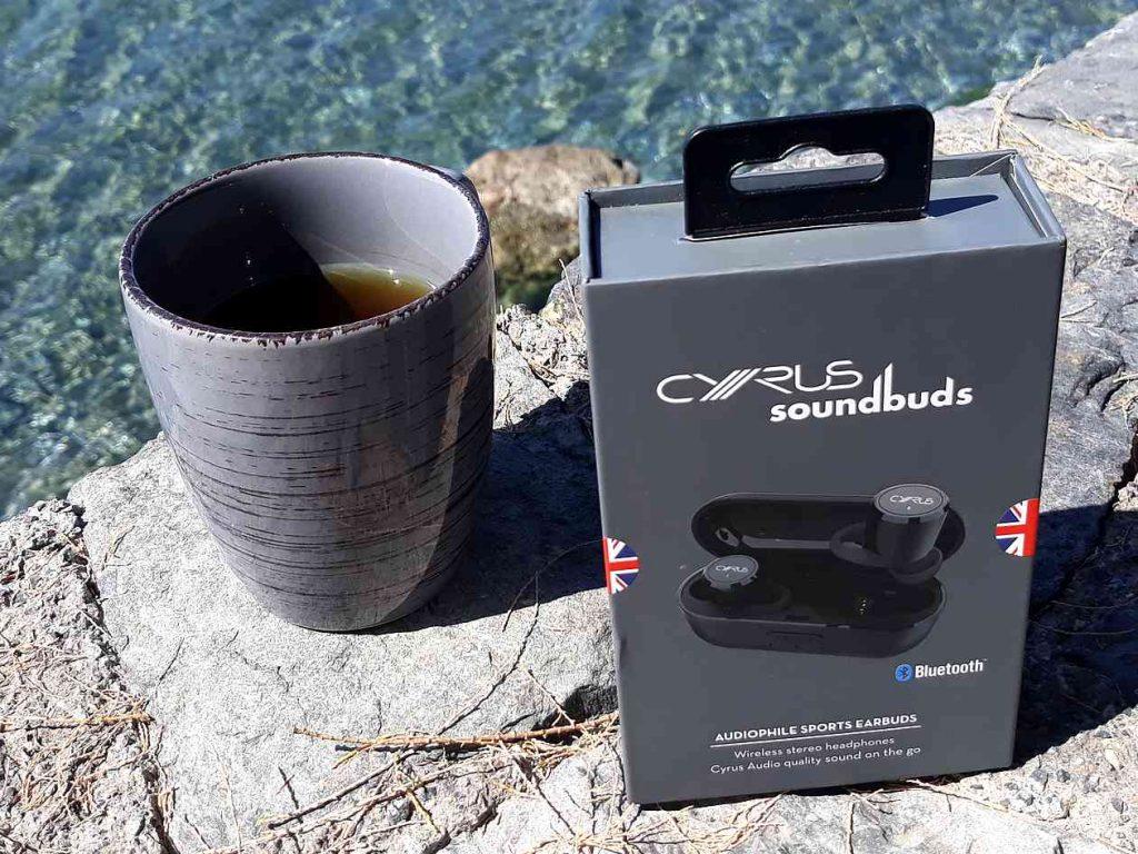 Cyrus soundBuds mobile Bluetooth-Kopfhörer im Urlaub im Test