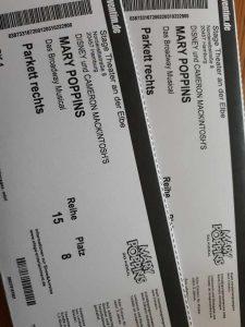 Eintrittskarten für das Musical Mary Poppins in Hamburg