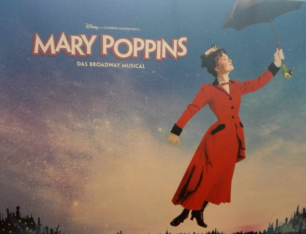 Musical Mary Poppins in Hamburg: Plakat