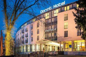 Dorint Hotel in Düsseldorf. Veranstaltungsort der World of HiFi