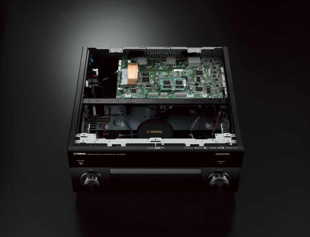 Yamaha CXA5200 Surround Vorstufe von innen
