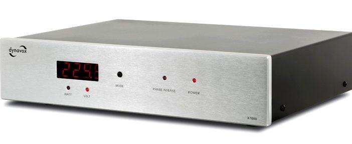 HiFi-Netzfilter Dynavox X7000 in silber