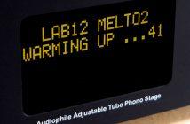 Der Röhren-Phonovorverstärker LAB12 Melto2 läuft sich zum Test warm