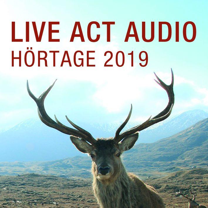 Logo der Live Act Hörtage 2019 in Sonthofen