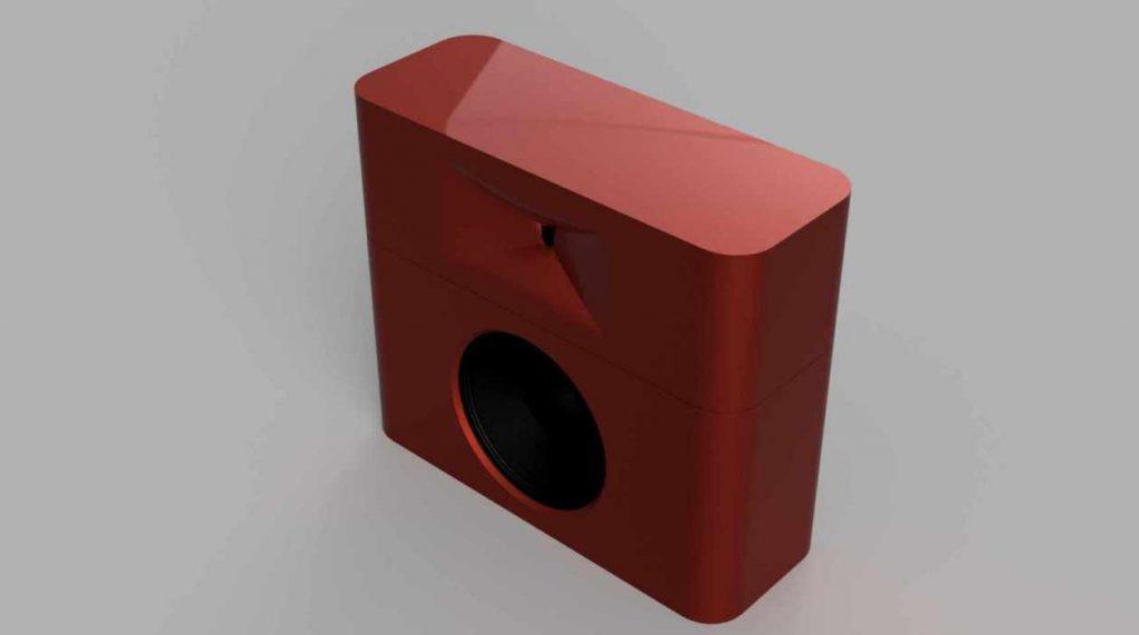 GGNTKT Model M2 Gehäuse rot