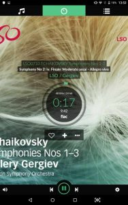 VOLUMIO Primo HiFi Screenshots Musikplayer LSO