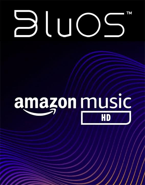 BluOS Amazon Music HD Logo