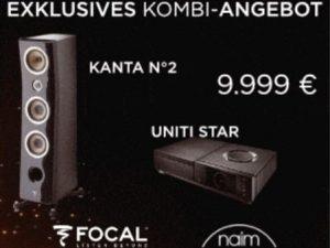 Focal Kanta 2 und Naim Uniti im Angebot