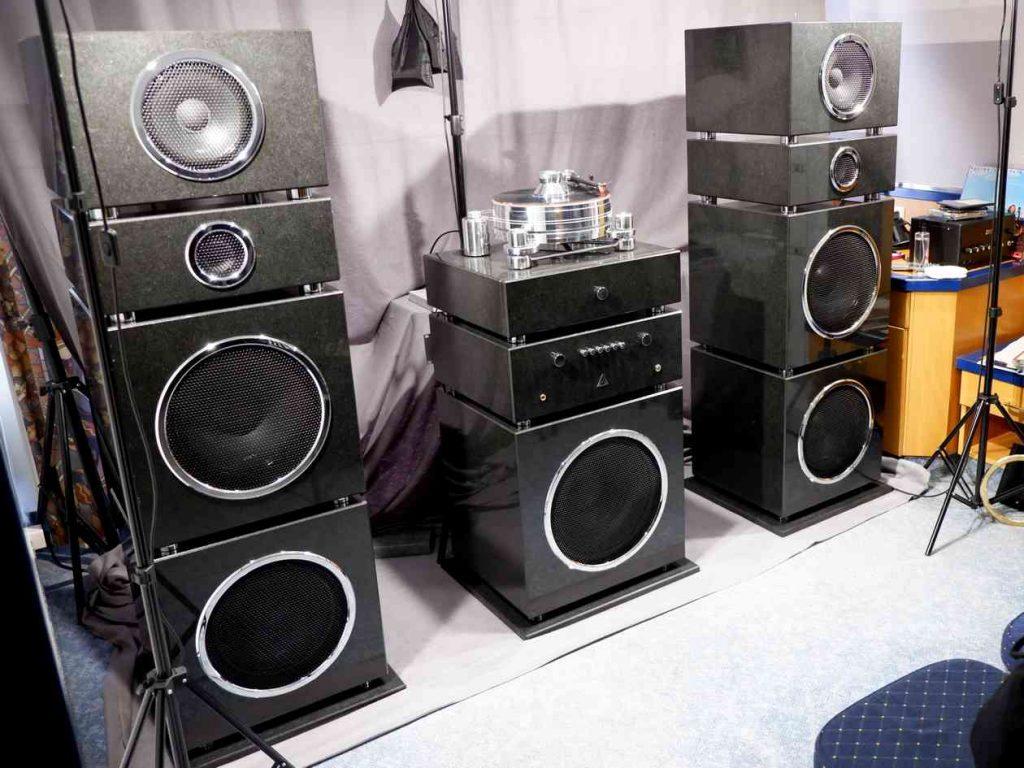 Soundstein High End Lautsprecher auf den Norddeutschen HiFi-Tagen in Hamburg. Ein Lebenstraum geht in Erfüllung