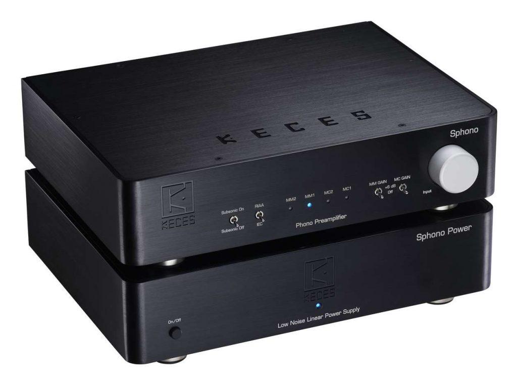 Der neue High End MM und MC Phono Vorverstärker Keces Audio Sphono
