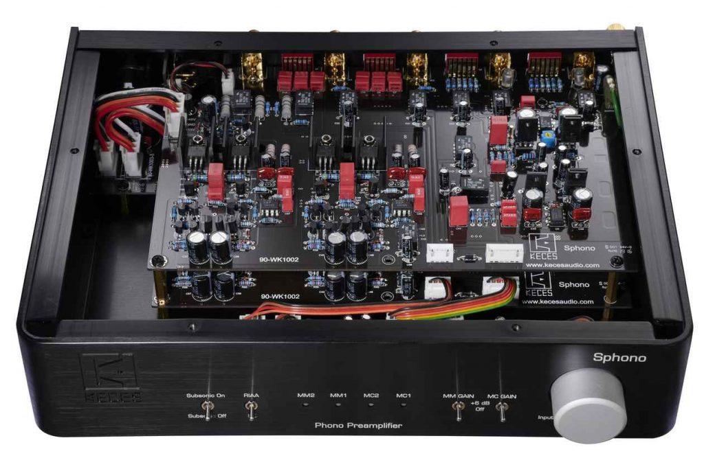 Die Technik des Phono Vorverstärker Keces Audio Sphono