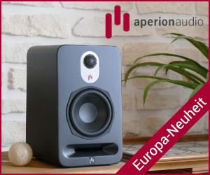 Kompaktlautsprecher AperionAudio B5 neu in Deutschland