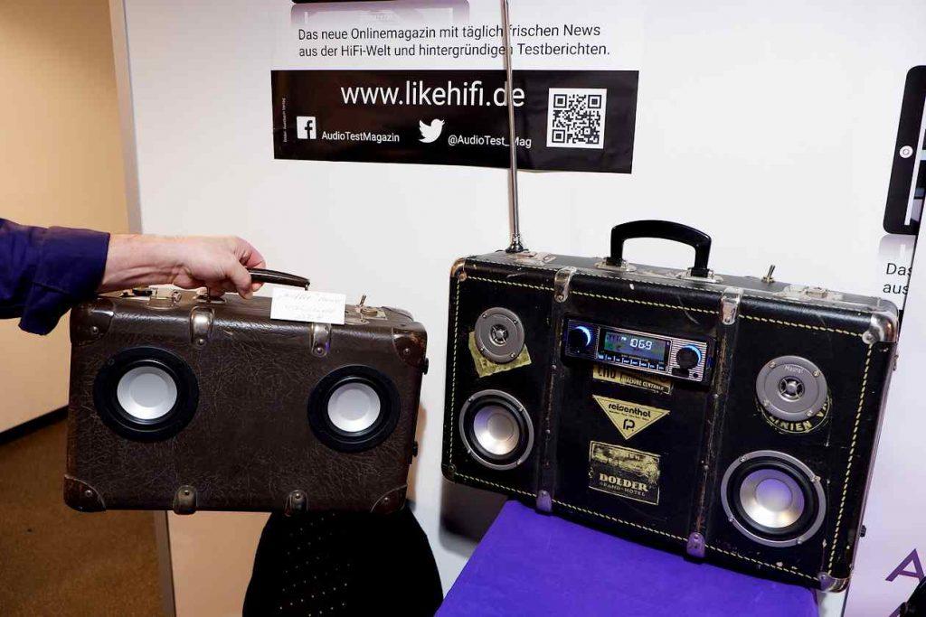 Kofferradio bei bFly-Audio