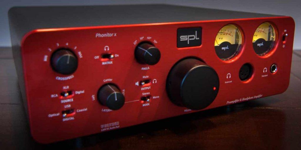 SPL Phonitor x Kopfhörerverstärker und Vorverstärker mit DAC-Option