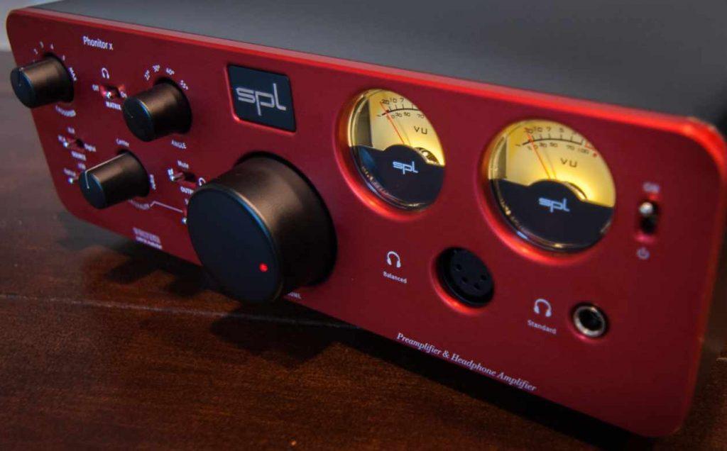 SPL Phonitor x Kopfhörerverstaerker und Vorverstärker mit DAC-Option