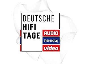 Logo der Deutsche HiFi-Tage in Darmstadt. Veranstaltet von Audio, Video und Stereoplay