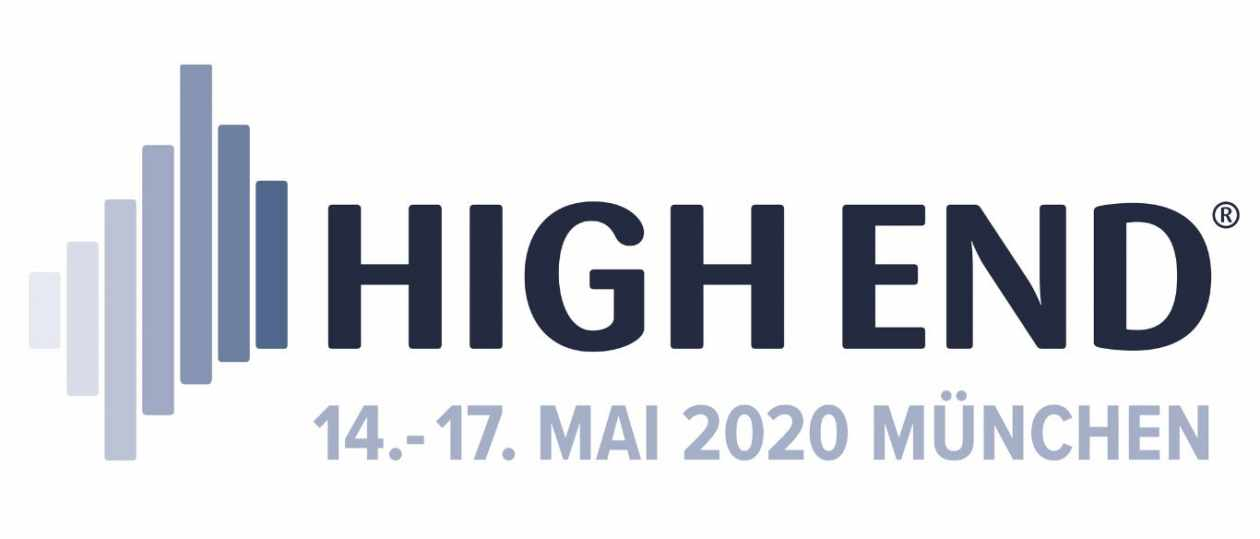 Logo der HiFi-Messe High End 2020 in München