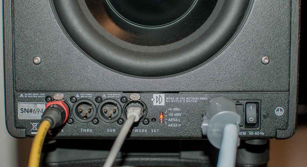 Dutch&Dutch 8c analog verkabelt (Foto: F. Visarius)