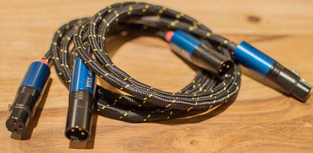 WSS Gold Line Kabel konfektioniert mit WSS-Standard XLR-Steckern