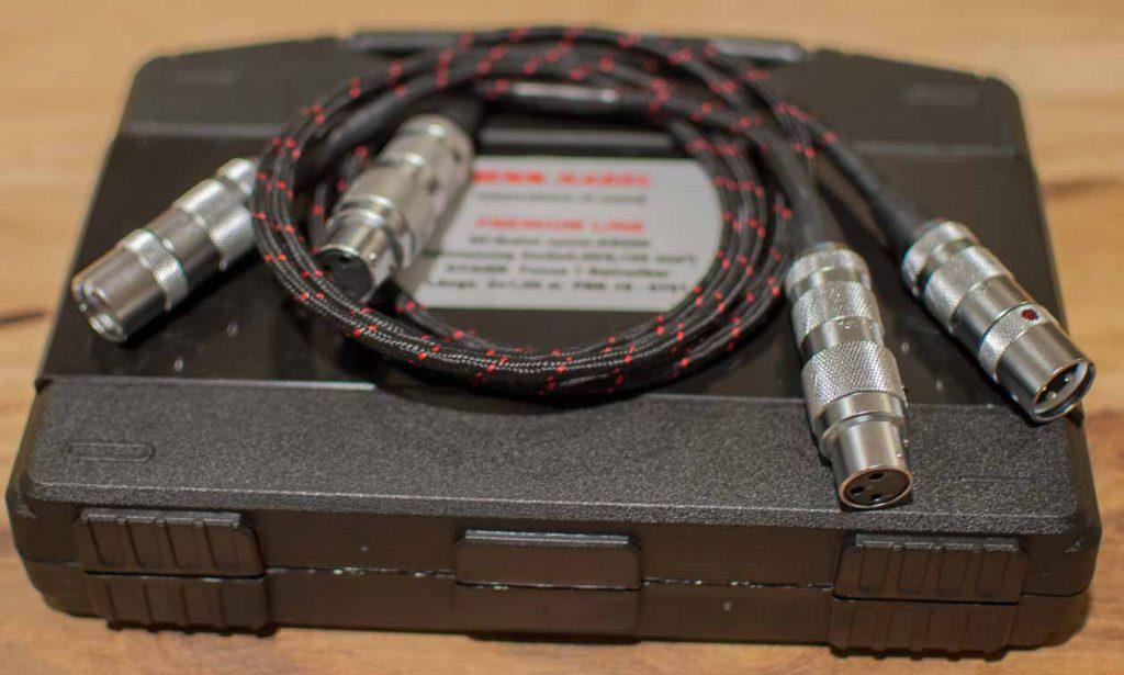 Top-Kabel von WSS: Premium-Line KS-200 mit Oyaide Focus 1 XLR-Steckern