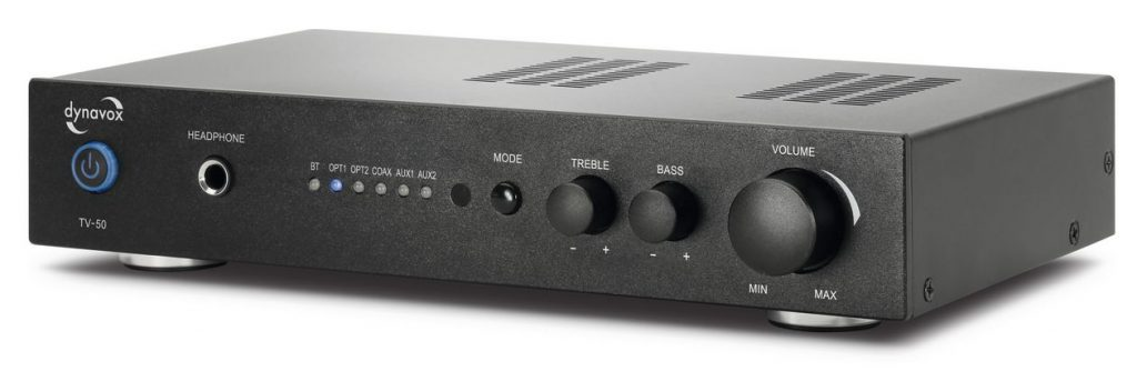 Neuer günstiger HiFi-Verstärker TV 50 von Dynavox