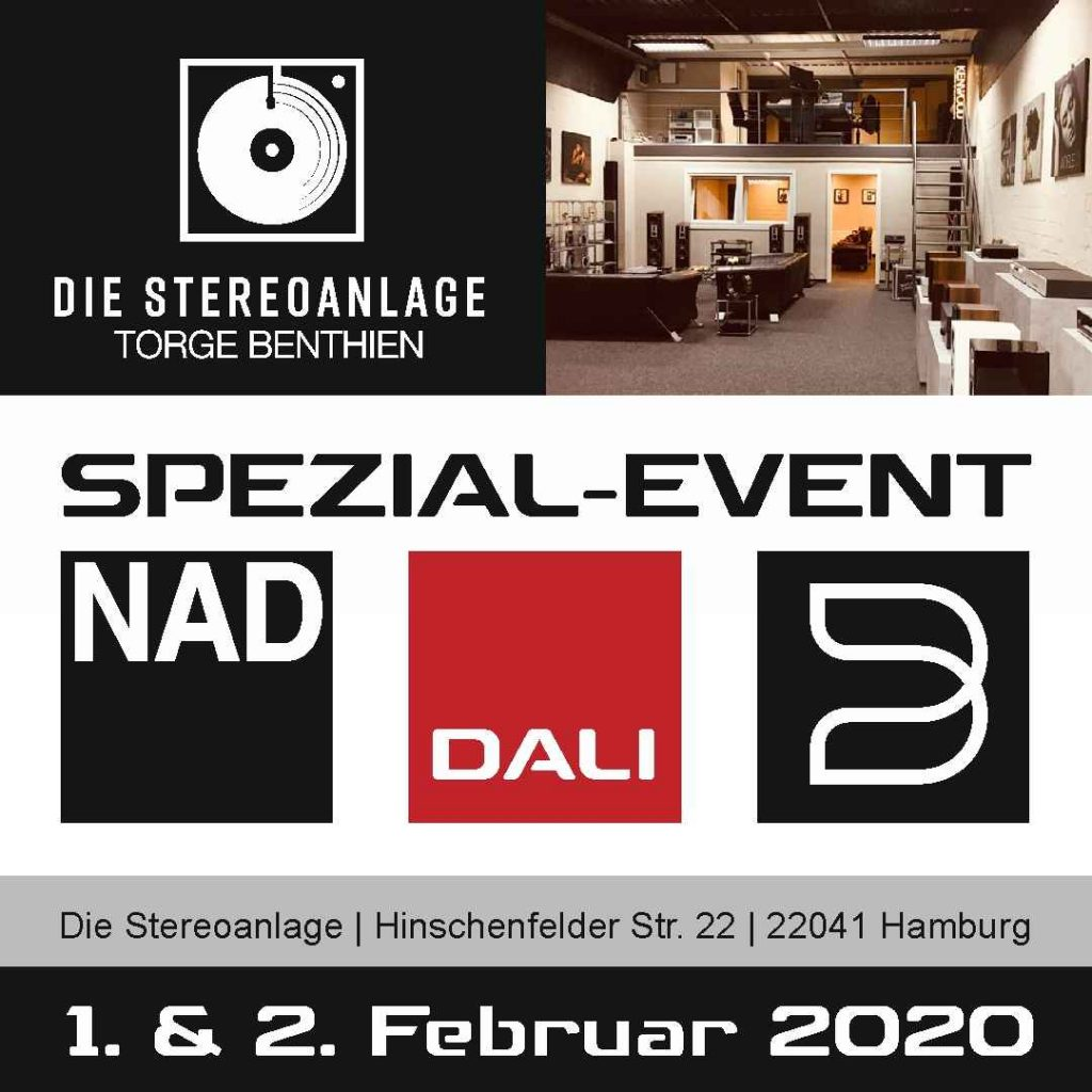 HiFi-Studio Torge Benthien mit Dali, Bluesound und NAD HiFi-Veranstaltung