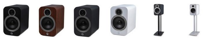 Die neuen Q Acoustics 3030i Kompaktlautsprecher