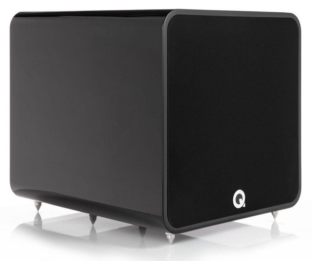 Q Acoustics Q B 12 Subwoofer in hochglanz schwarz