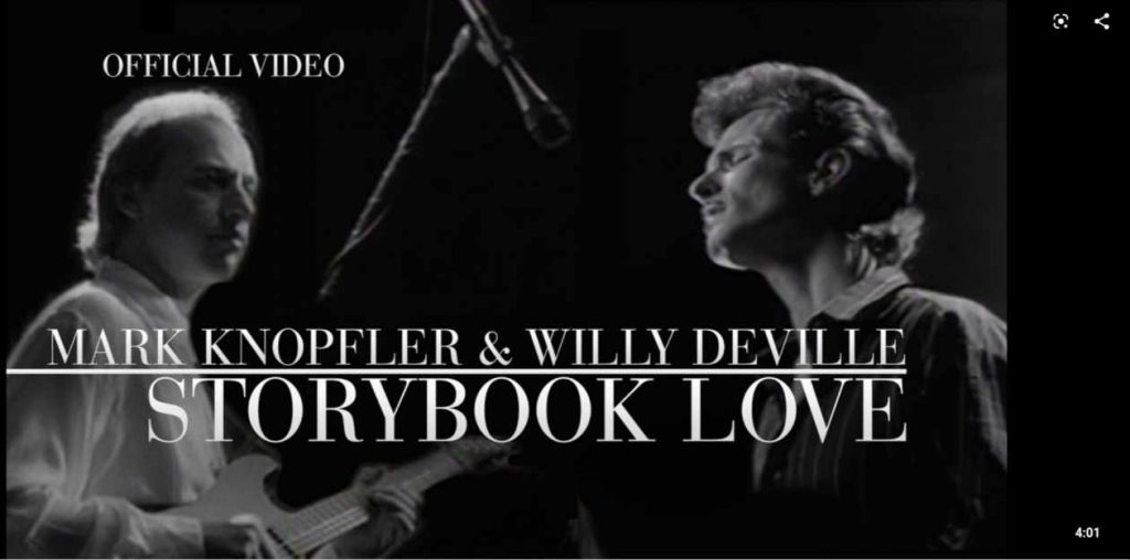 Storybook Of Love von Willy DeVille. Youtube Cover