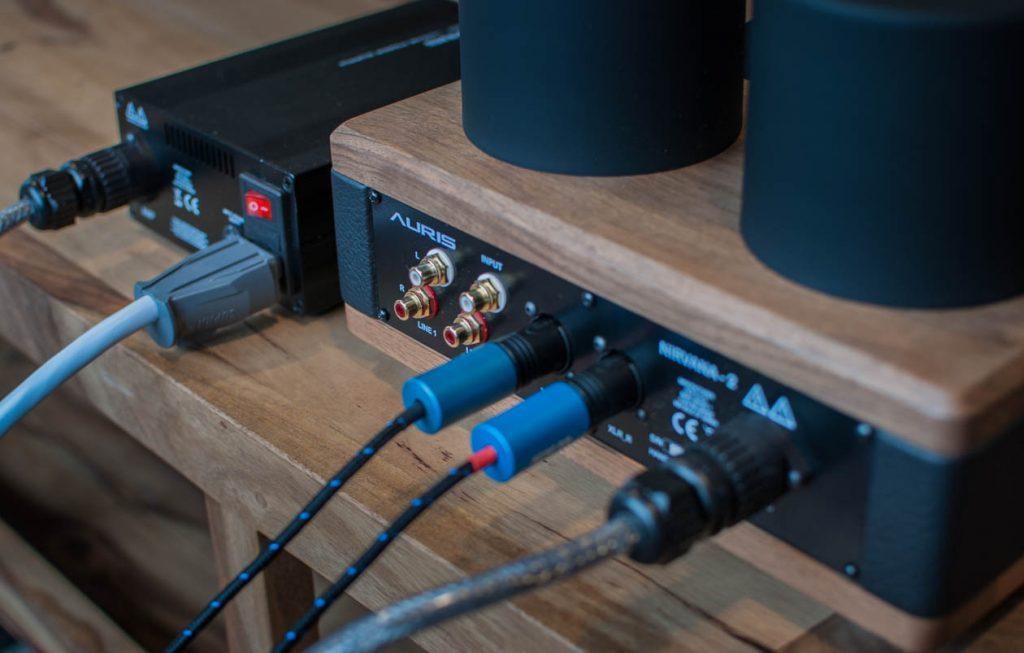 AURIS Audio NIRVANA mit separatem Netzteil - Verkabelt