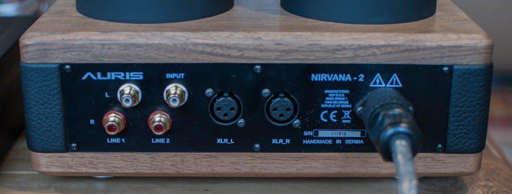 AURIS Audio NIRVANA - Drei analoge Eingänge