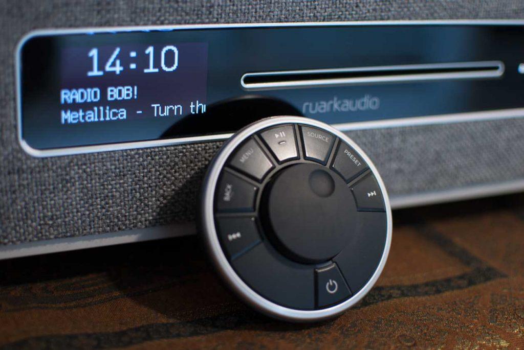 Ruark Audio R5 - Intuitive Fernbedienung