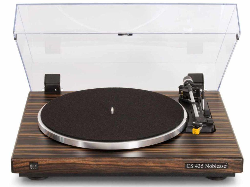 Vollautomatischer Plattenspieler Dual CS 435-1 in Makassar mit Tonabnehmer AT 95