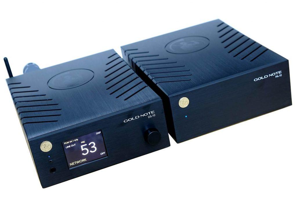 Im Test der Netzwerkplayer-Streamer-Vorverstärker Gold Note DS-10 und der Endverstärker Gold Note PA-10