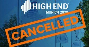High End 2020 in München abgesagt