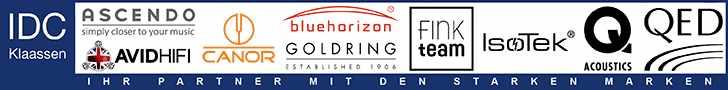 Audiophile HiFi- und High End Produkte im Vertrieb von IDC Klaassen