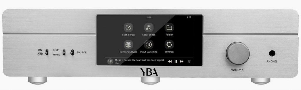Der neue Streamer-Vollverstärker YBY R100 mit Phono-MM-Stufe