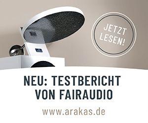 Arakas Raum-Spiegel und Klang-Diffusor für HiFi- und High End Lautsprecher für große räumliche Darstellung