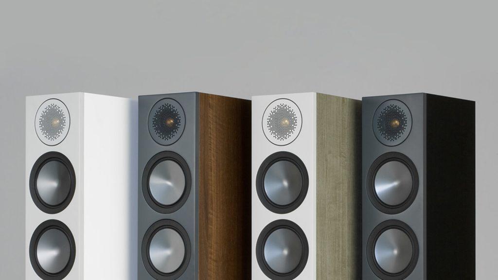 Die Monitor Audio Bronze 6G in 4 Farben